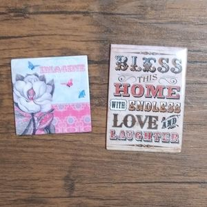 Two Decorative Magnets